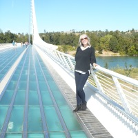 Relaxed Look at the Sundial Bridge